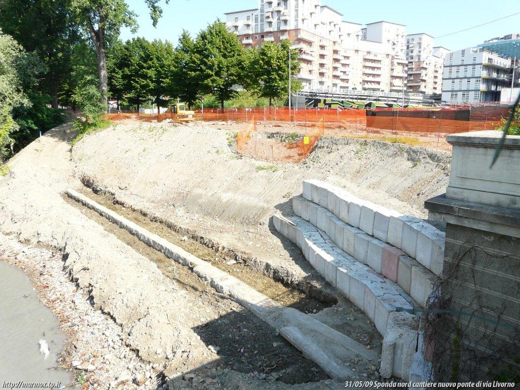 Cantieri di spina3 nuovo ponte sulla dora in via livorno for Cabine sulla sponda nord