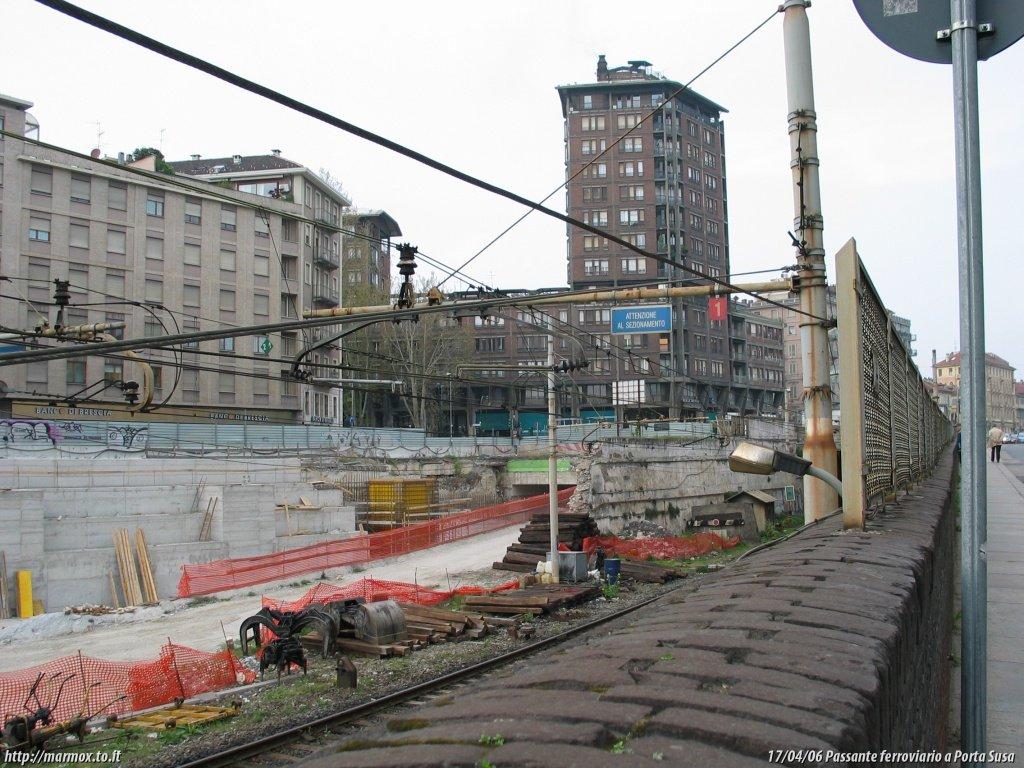 Passante ferroviario di torino tra porta susa e stazione - Porta susa stazione ...
