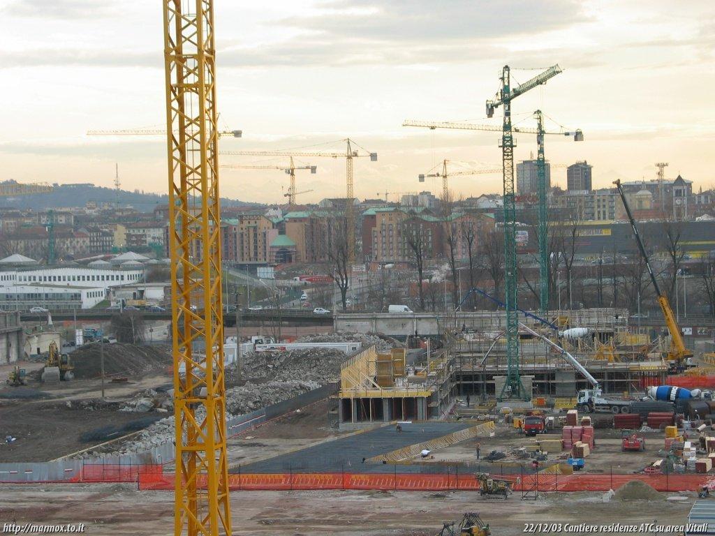 Cantieri di spina3 tra ottobre e dicembre 2003 marmox for Cantiere di costruzione